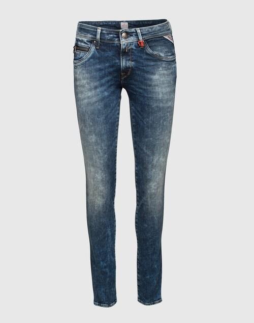 REPLAY Skinny Jeans ´Yasmeen´ Damen blau