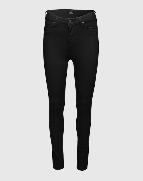 Lee Black High Waist Denim ´Skyler´ Damen schwarz/grau