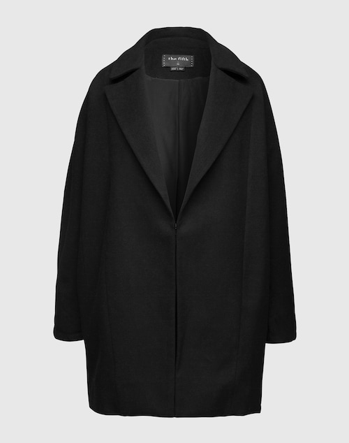 the fifth LABEL Cleaner Coat ´Walking Home´ Damen schwarz