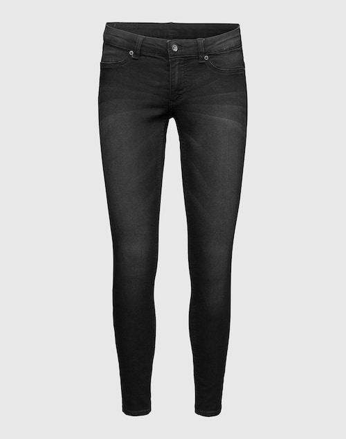 CHEAP MONDAY Low Waist Jeans Damen grau