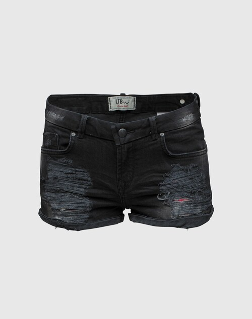 LTB Knappe Used Shorts ´Judie´ Damen schwarz