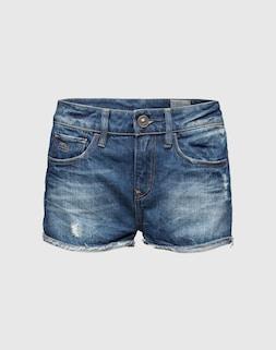 G-STAR RAW;Denim-Hotpants in Used-Optik '3301';89,90 €