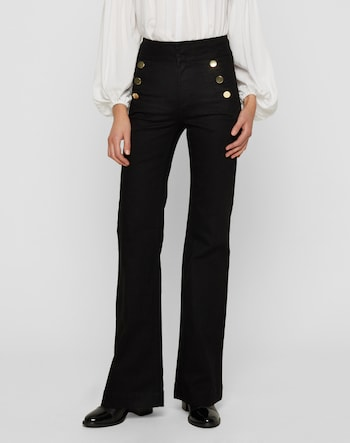 High Waisted Pants 'Jolien'