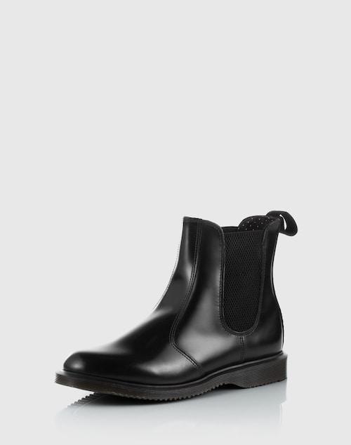 Dr. Martens Chelsea Boot aus Leder ´Flora´ Damen schwarz