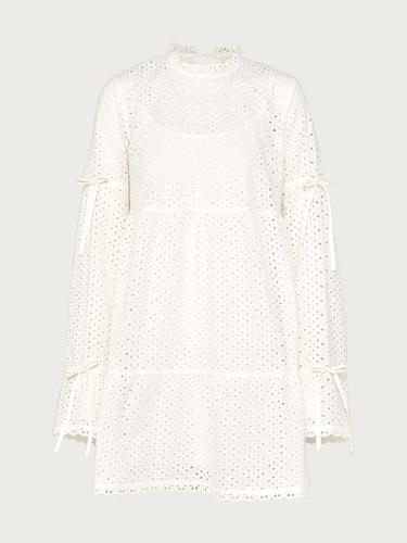 Kleider für Frauen - EDITED Kleid 'Salma' Damen weiß  - Onlineshop Edited