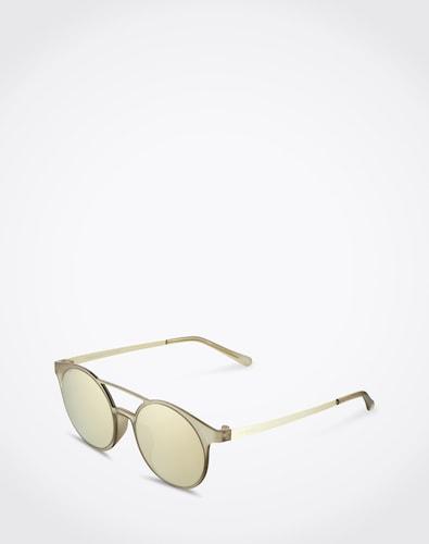 Sonnenbrillen für Frauen - LE SPECS Sonnenbrille 'Demo Mode' Damen beige  - Onlineshop Edited