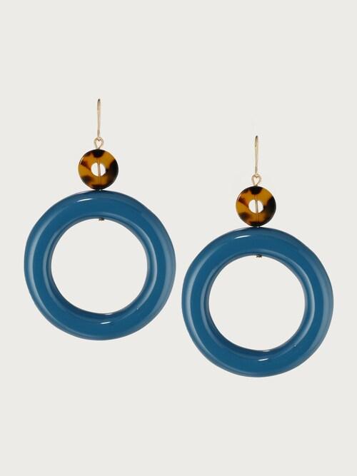 edited -  Ohrring ´Alayah´ Damen blau