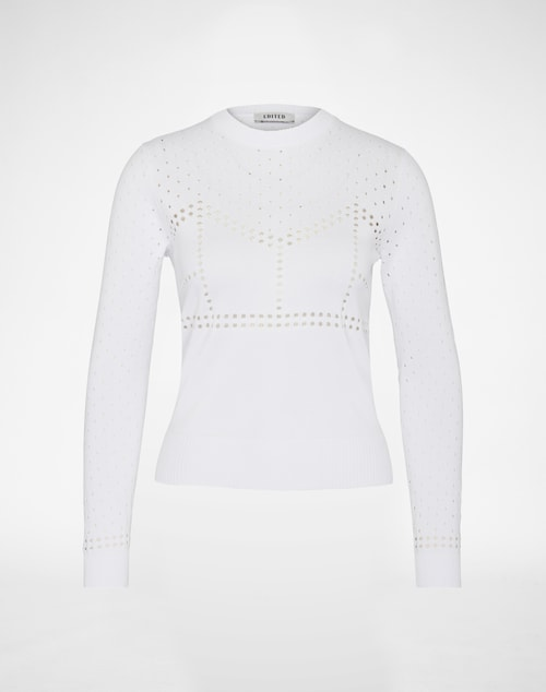 EDITED the label Jumper ´Dana´ Damen weiß