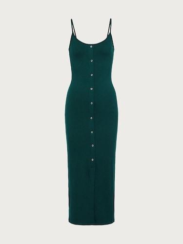 Kleider für Frauen - EDITED Kleid 'Cylia' Damen grün  - Onlineshop Edited