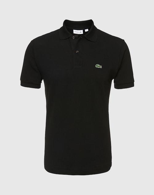 LACOSTE Poloshirt Herren schwarz