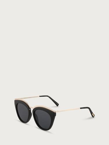 Sonnenbrillen für Frauen - LE SPECS Sonnenbrille 'EYE SLAY' Damen schwarz  - Onlineshop Edited