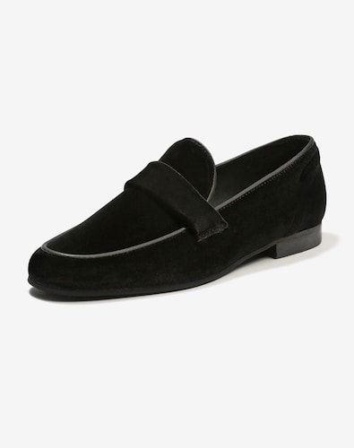 Slipper für Frauen - EDITED the label Penny Loafer 'Tara' Damen schwarz  - Onlineshop Edited