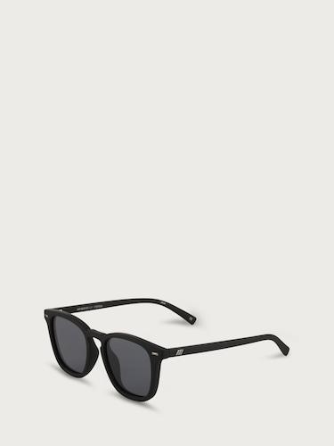 Sonnenbrillen für Frauen - LE SPECS Sonnenbrille 'NO BIGGIE' schwarz  - Onlineshop Edited