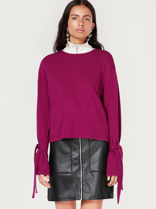EDITED the label Pullover ´Valerie´ Damen lila