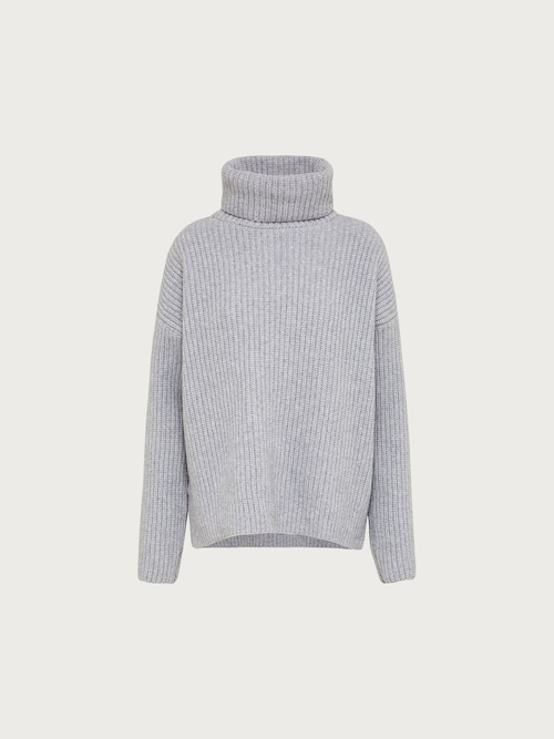 edited -  Cashmere Jumper ´Allegra´ Damen grau