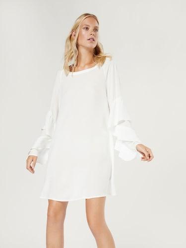 Kleider für Frauen - EDITED Kleid 'Joanna' Damen weiß  - Onlineshop Edited