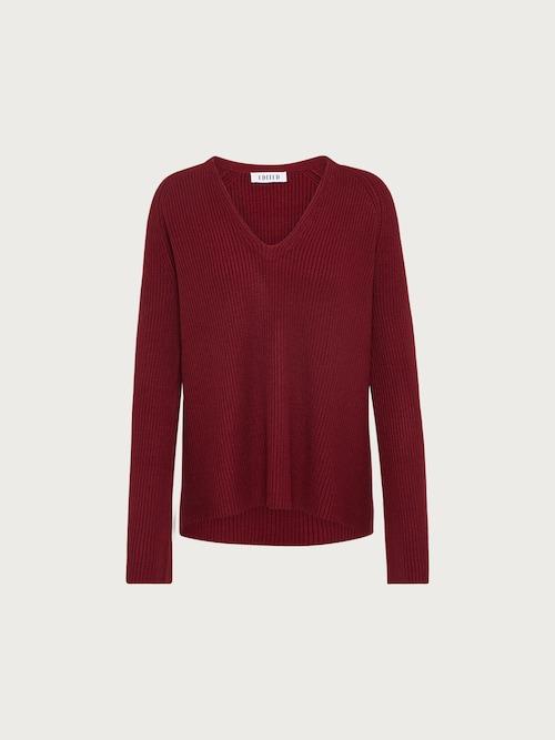 EDITED Pullover ´Amber´ Damen rot