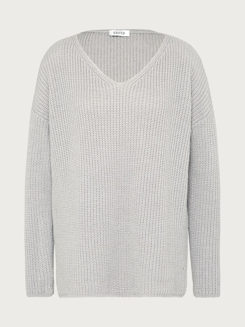 EDITED the label Pullover ´Emma´ Damen grau