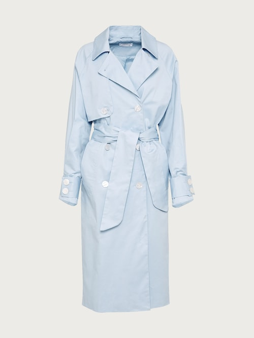 edited -  Trenchcoat ´Clea´ Damen blau