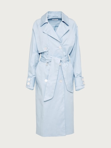 EDITED Trenchcoat ´Clea´ Damen blau | Bekleidung > Mäntel > Trenchcoats | EDITED