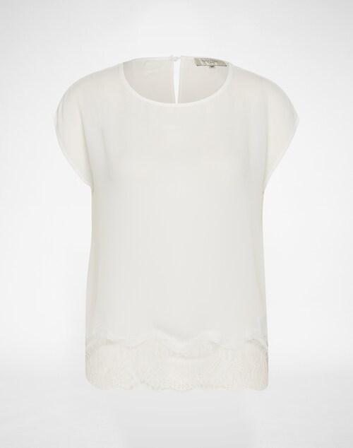 SELECTED FEMME Blusenshirt ´SF ABA´ Damen weiß