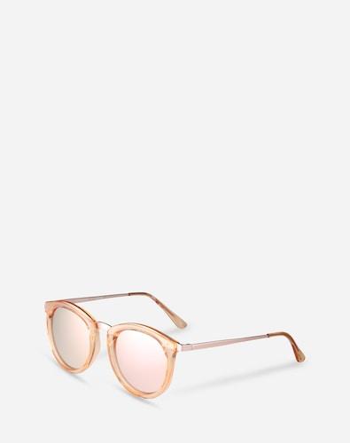 Sonnenbrillen für Frauen - LE SPECS Sonnenbrille 'No Smirking' pink  - Onlineshop Edited