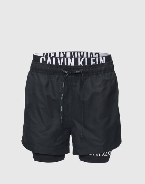 Calvin Klein Swimwear Kombinierte Badeshorts Herren schwarz