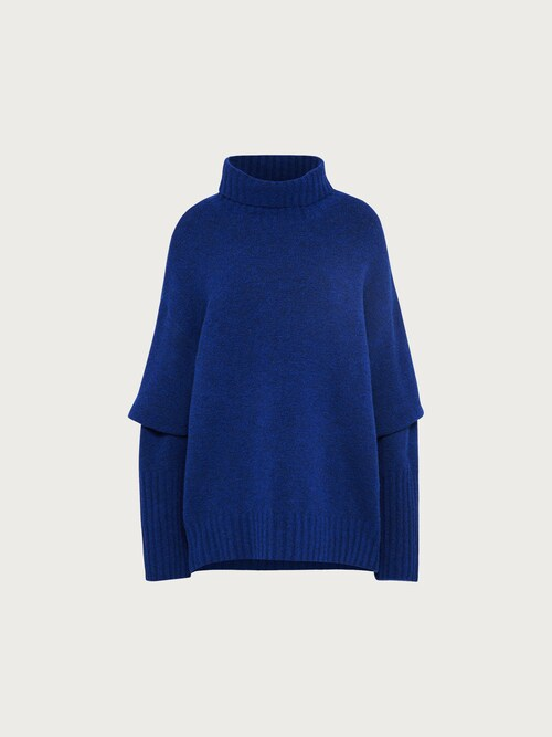 EDITED Jumper ´Lou´ Damen blau