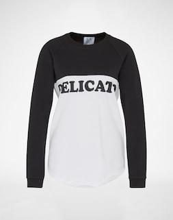 ZOE KARSSEN; Sweatshirt mit Typo-Message; 119.00 €