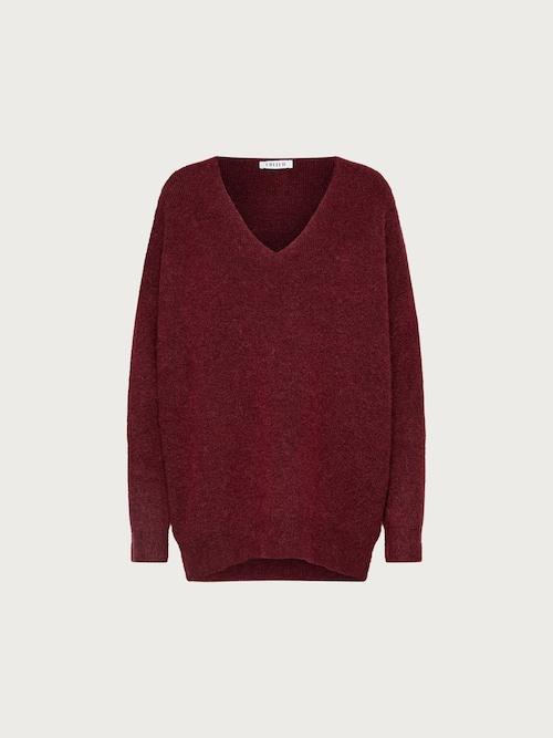 EDITED Pullover ´Kleo´ Damen rot