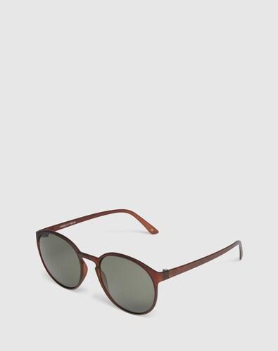 Sonnenbrillen für Frauen - LE SPECS Sonnenbrille 'Swizzle' braun  - Onlineshop Edited