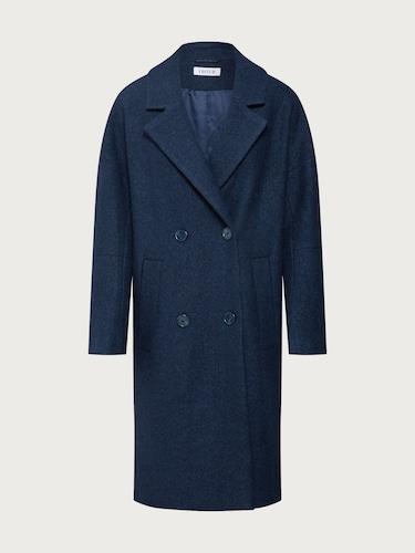 Jacken für Frauen - EDITED Mantel 'Hanne' Damen blau  - Onlineshop Edited