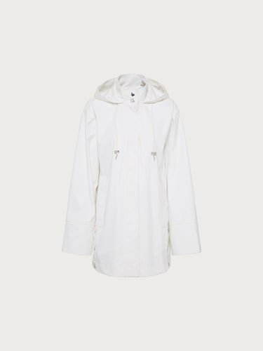 EDITED Regenmantel ´Nahla´ Damen weiß | Sportbekleidung > Sportmäntel > Regenmäntel | EDITED