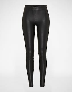 SELECTED FEMME; Leggings 'SFSYLVIA MW STRETCH LEATHER'; 369.00 €