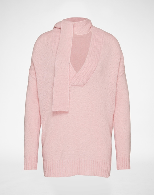 EDITED the label Pullover ´Lana´ Damen pink/rot