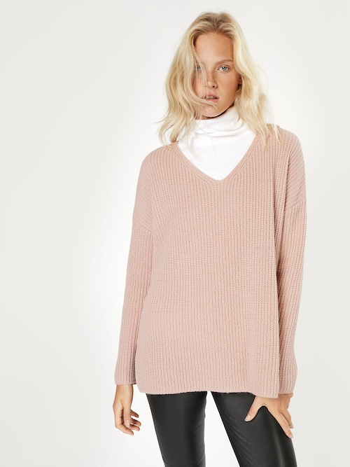 EDITED the label Pullover ´Emma´ Damen pink