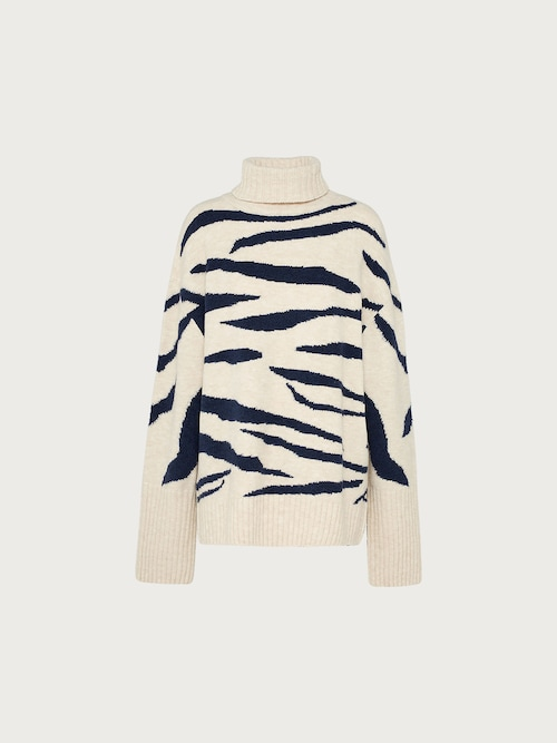 EDITED the label Jumper ´Nadja´ Damen beige/blau