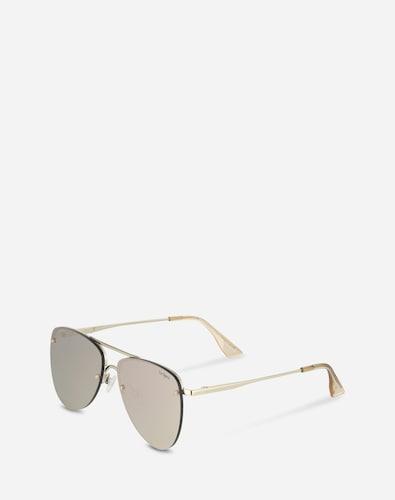 Sonnenbrillen für Frauen - LE SPECS Pilotenbrille 'The prince' gold  - Onlineshop Edited