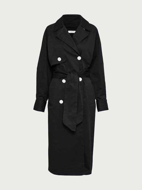 edited -  Trenchcoat ´Clea´ Damen schwarz