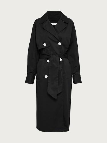 EDITED Trenchcoat ´Clea´ Damen schwarz | Bekleidung > Mäntel > Trenchcoats | EDITED