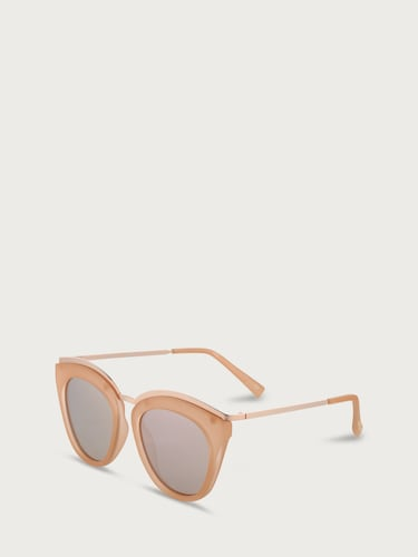 Sonnenbrillen für Frauen - LE SPECS Sonnenbrille 'EYE SLAY' Damen orange  - Onlineshop Edited