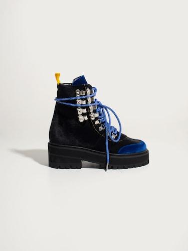 EDITED x BLANCA MIRÒ SCRIMIERI Trekking Boots ´Blanca´ Damen schwarz | Schuhe > Boots | EDITED x BLANCA MIRÒ SCRIMIERI