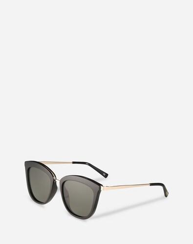 Sonnenbrillen für Frauen - LE SPECS Sonnenbrille 'Caliente' Damen schwarz  - Onlineshop Edited
