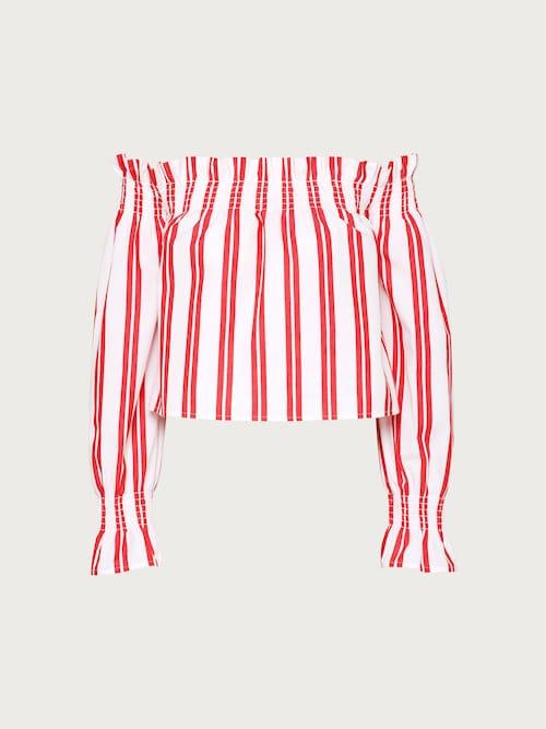 edited -  Bluse ´Lexie´ Damen rot/weiß
