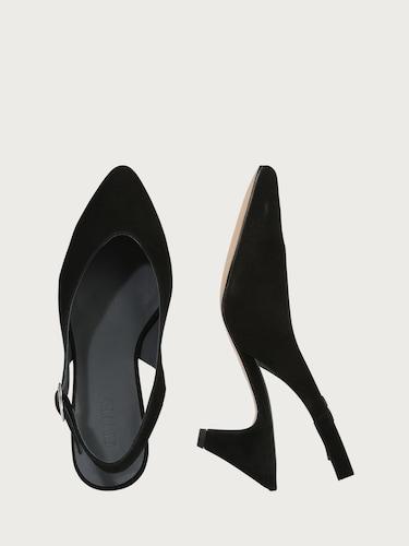 EDITED Slingpumps ´Mirabelle´ Damen schwarz | Schuhe > Pumps > Slingpumps | EDITED